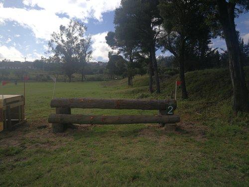 Fence 2 - Vertical de tronco