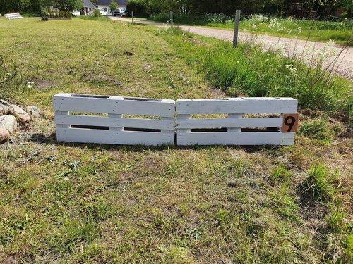 Fence 9 - Grå stakit