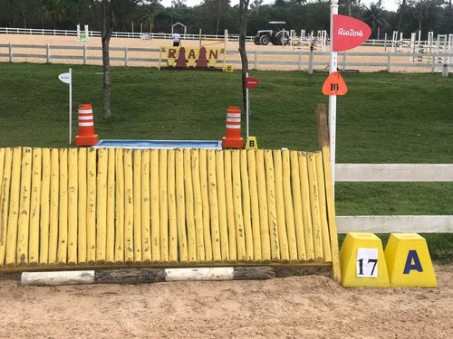 Fence 17A - Painel amarelo