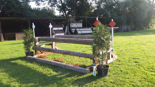 Fence 3 - Oxer