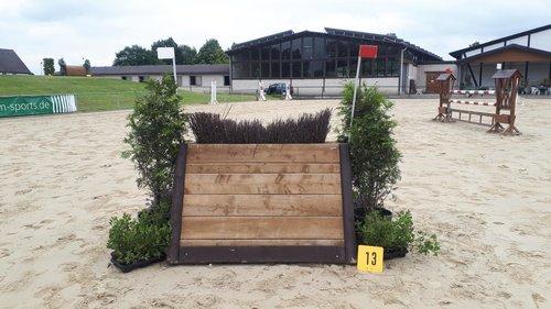 Fence 13 - Schmale Hecke