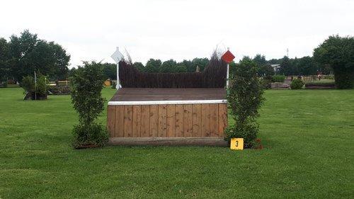 Fence 3 - Tisch mit Hecke