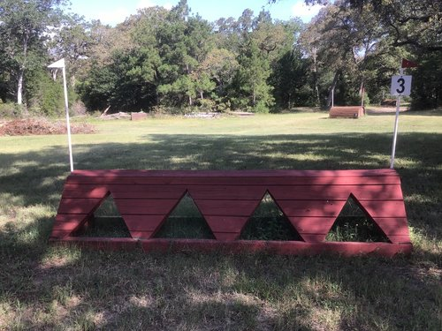 Fence 3 - Red Chevrons