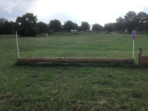 Fence 1 -  Welcome Log