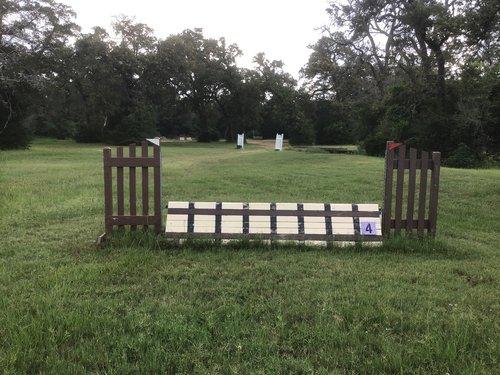Fence 4 - RR XC Coop,
