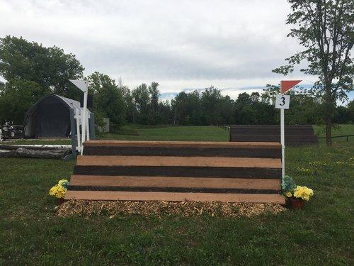 Fence 3 - Striped A Frame