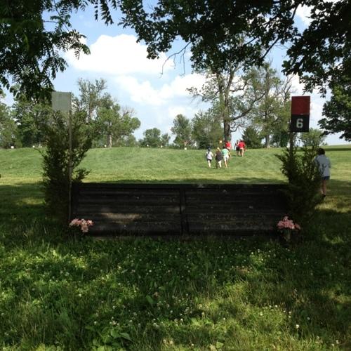 Fence 6 - Black ramp