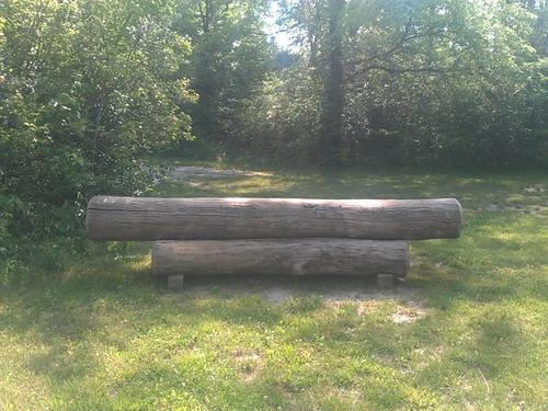 Fence 5B - Log Pile