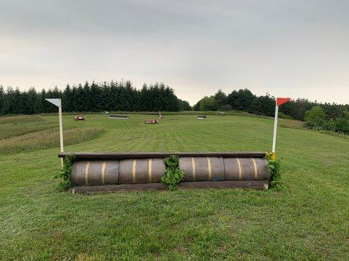 Fence 5 - Barrels