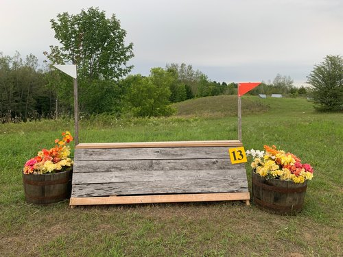Fence 13 - Rustic A Frame
