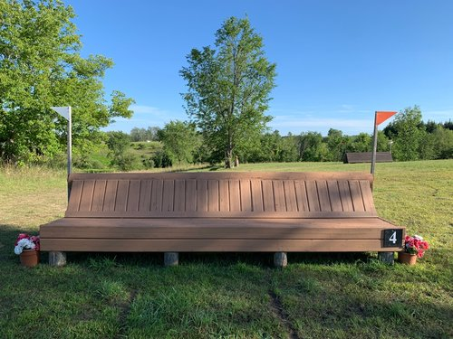 Fence 4 - Cedar Bench