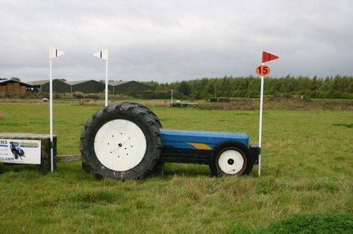 Hindernis 15 - Tractor