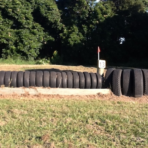 Fence 13 - Tyres