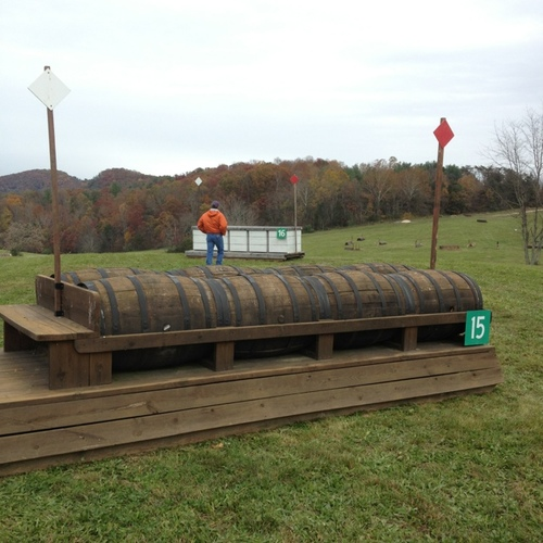 Obstacle 15 - Barrels