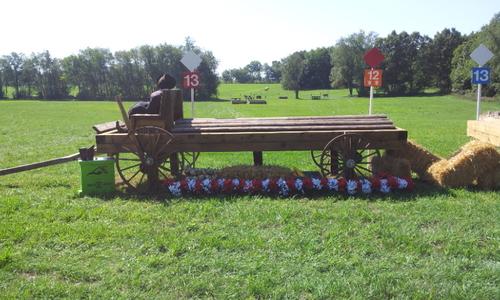 Fence 13 - Amish Wagon