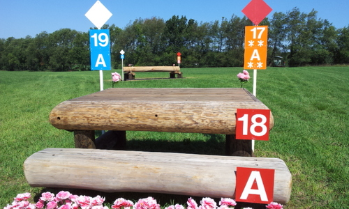 Fence 18AB - Table Tio's Oxer