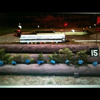 Fence 15 - Triple bar