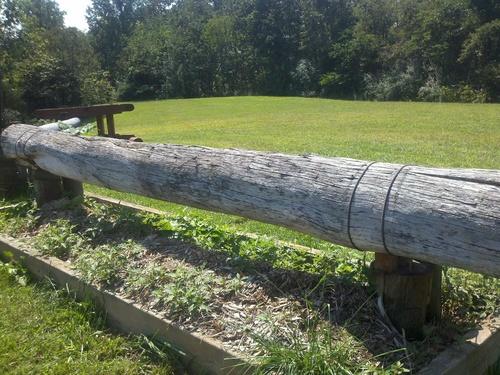 Fence 12 - Mulch Mound
