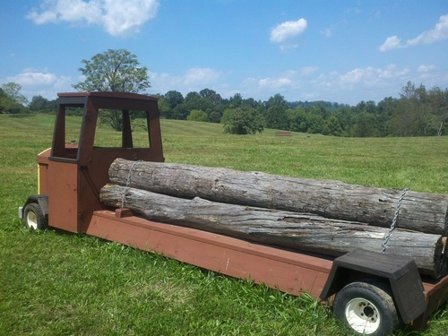 Fence 13 - Log Truck