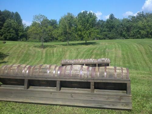 Fence 8AB - Barrels