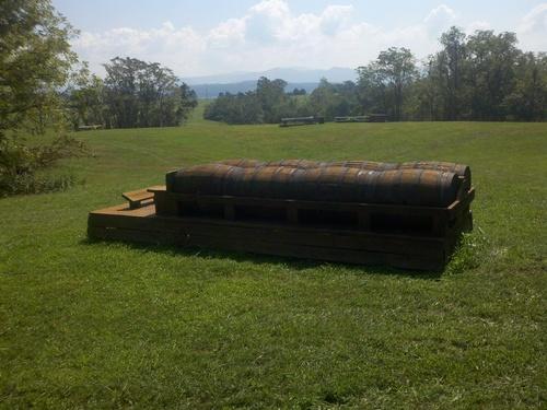 Fence 12 - Barrel Wagon