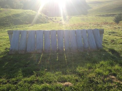 Fence 12 - Palisadevæg