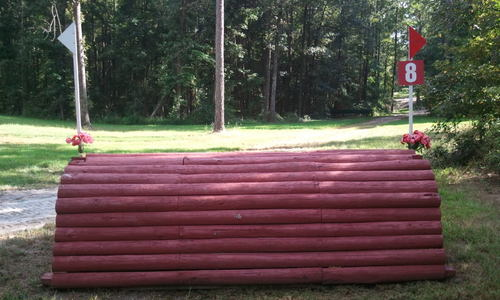 Fence 8 - Red Roll