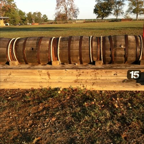 Fence 15 - Barrels