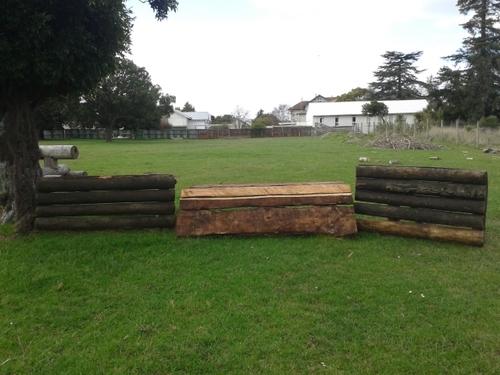 Fence 7 - Pine Slab
