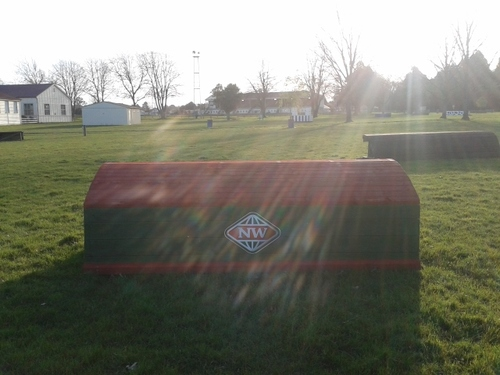 Fence 15 - New World Roll Top