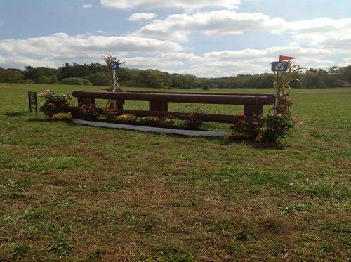 Fence 6 - Hillside Oxer