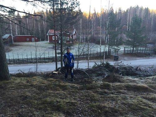 Hindernis 1 - Start vid Pålsbruket i Åbo Delsbo