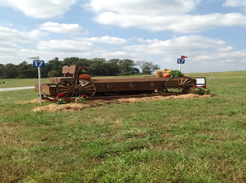 Fence 17 - Wagon