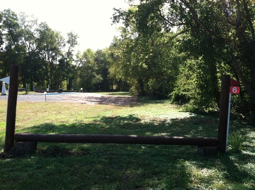 Fence 6 - Stump Rail