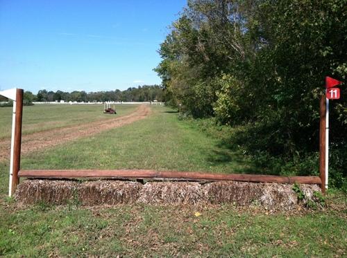Fence 11 - Straw Rail