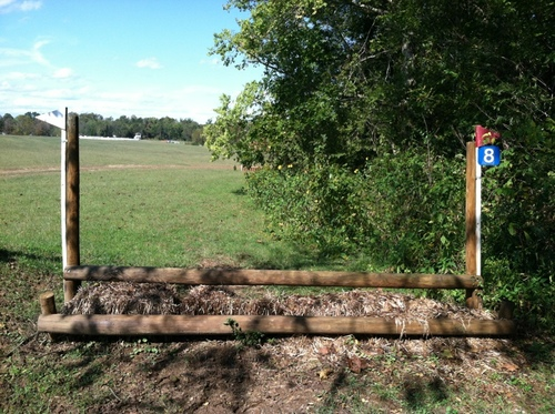 Fence 8 - Hay Rail Oxer